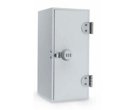 Combi-Cam keyless cam lock secures medical cabinets much better than a conventional cam lock.
