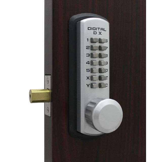 Lockey 3210 Marine Rated Push Button Deadbolt Lock Gokeyless