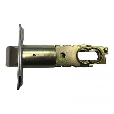 Cylindrical latch backset. Supplied with lock.