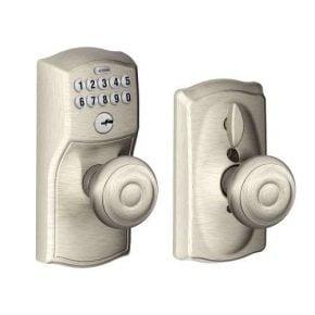 SCHLAGE FE595 Flex Lock with Georgian Knob