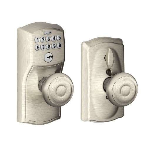 Schlage Fe595 Keypad Flex Lock With Georgian Knob Gokeyless
