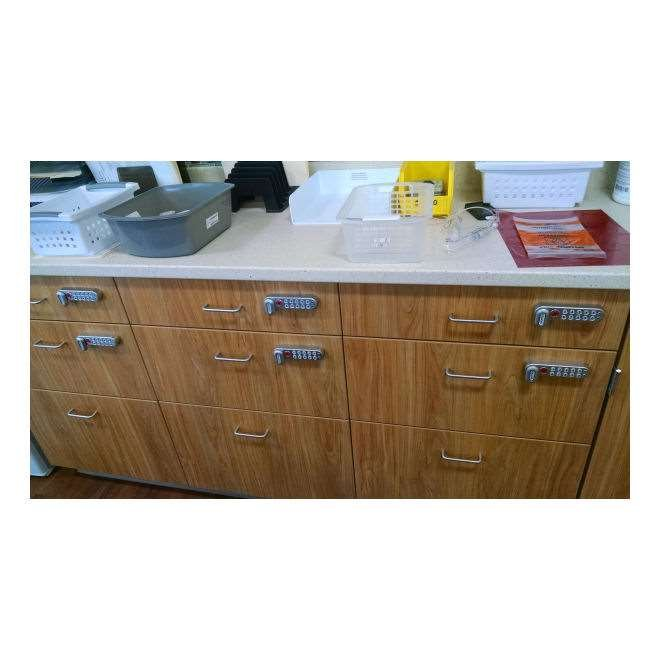Codelocks Kitlock Kl1000 Horizontal Electronic Cabinet