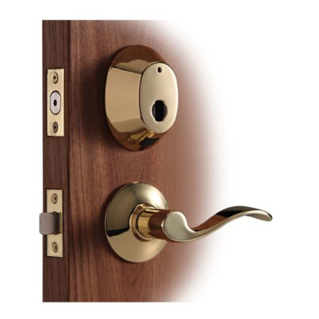 InSync Deadbolt with Lower Lever