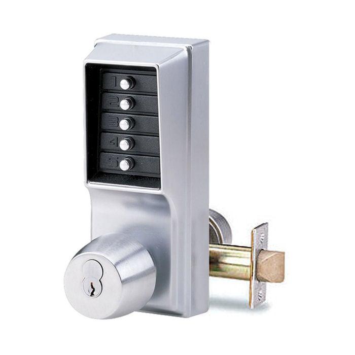 Simplex 1021r Pushbutton Door Lock With Sargent Core