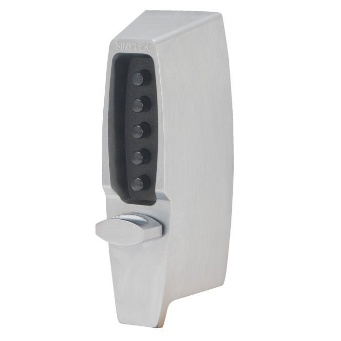 Simplex 7100 Push Button Deadlatch