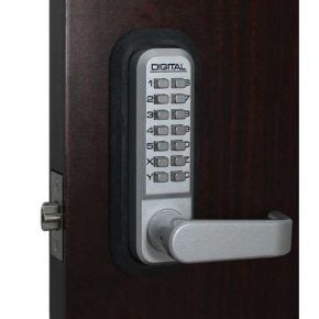 2835 Keyless Combination Lever Lock