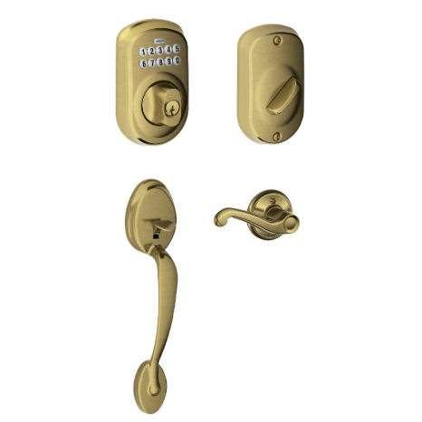 how to change the code on a schlage keyless lock
