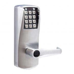 Kaba PowerPlex P2000 w/ Key Backup - satin chrome