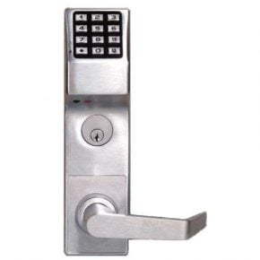 Trilogy DL4500 Digital Pushbutton Mortise Lock