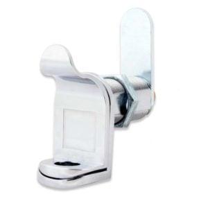 FJM 7840 Padlockable Cam in Satin Chrome