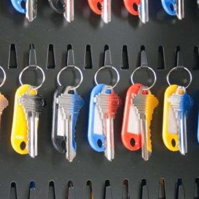 SL-9000 Key Tags (Keys NOT Included)