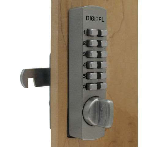 Lockey C-170 Pushbutton Cabinet Lock   GoKeyless