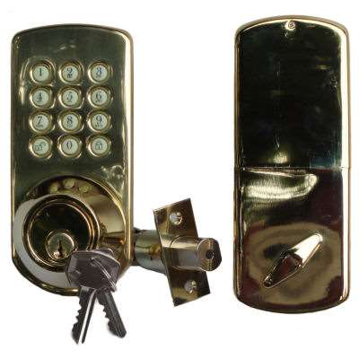 Morning Hf Touchpad Deadbolt Lock Gokeyless