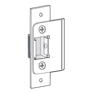 Door strike - installs into door jamb (frame)