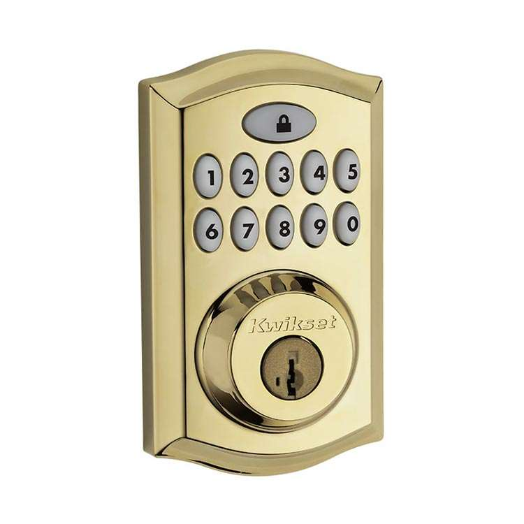 Smartcode 914 Push Button Deadbolt With Z Wave Gokeyless