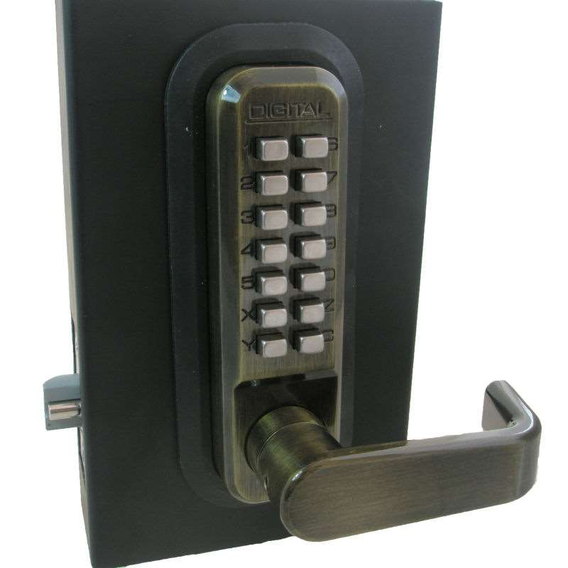Lockey 2835dc Double Sided Mechanical Keyless Lock