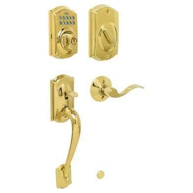 Schlage Fe365 Camelot Front Door Keypad Deadbolt With