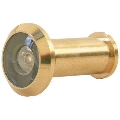 Schlage 698 Home Security Door Viewer Bright Brass
