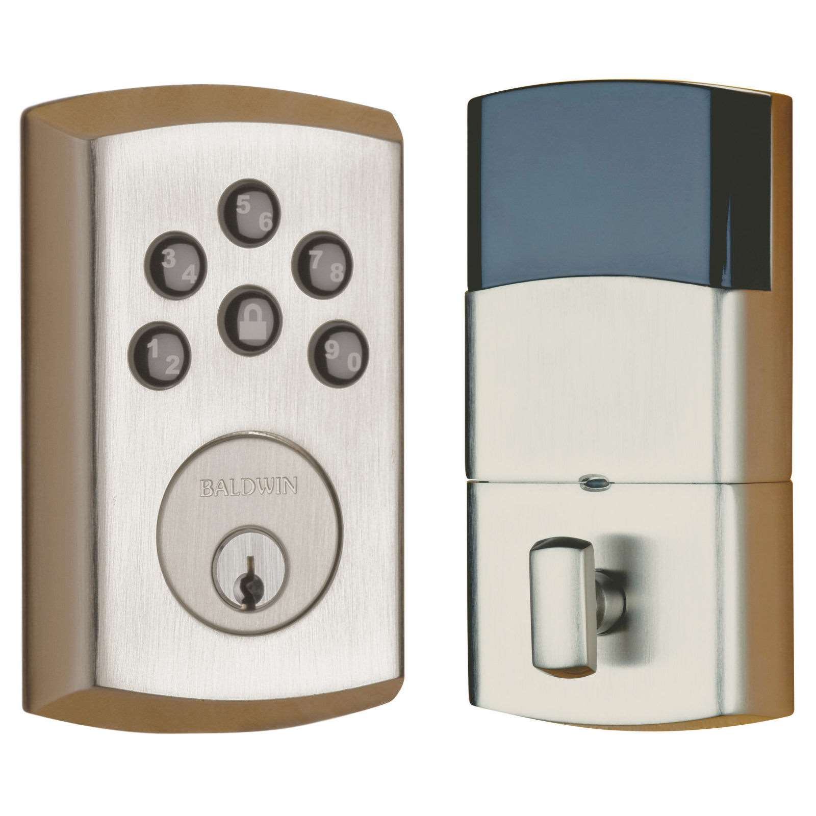 Baldwin Soho 8285 Electronic Deadbolt Gokeyless