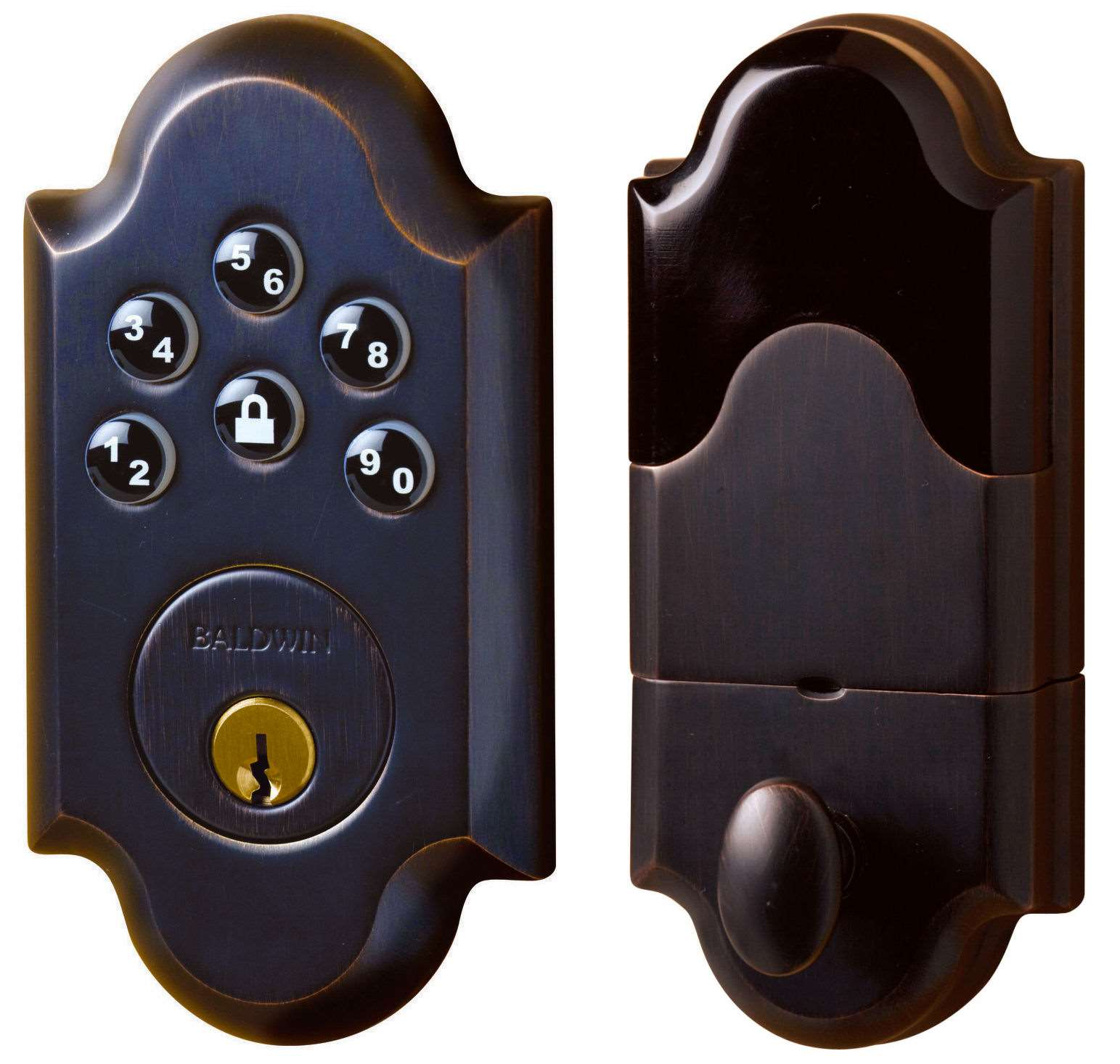 Cool Electronic Entry Door Deadbolts Photos Exterior