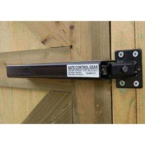 Gate Closer - Lockey TB175 - Black