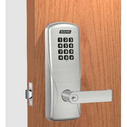 schlage co100 manually keyless lock