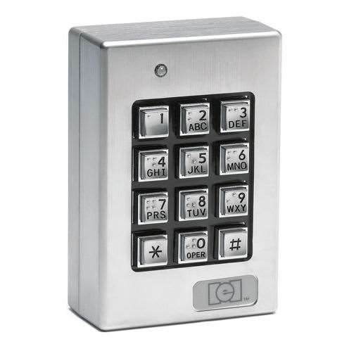 Linear Iei 212se Heavy Duty Numeric Keypad W Braille Keys