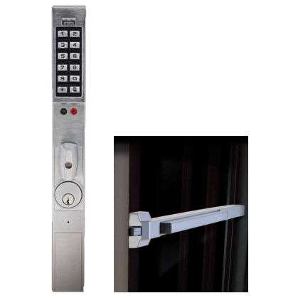 Trilogy Dl1325et Narrow Stile Keypad Exit Lock Gokeyless