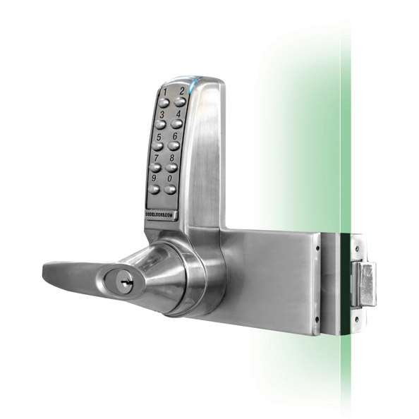 Codelocks Cl4000gd Electronic Glass Door Lock Gokeyless