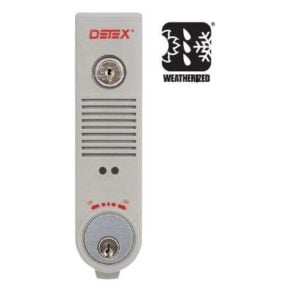 Detex EAX-500W Weatherized 9V Battery Powered Door Alarm - Grey