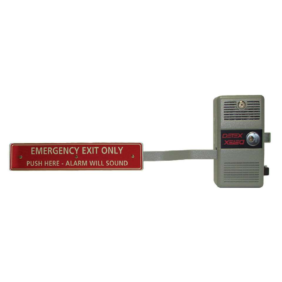 Detex ECL-600 Fire Rated Relatching Alarmed Exit Device