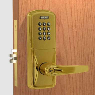 Schlage Ad 200 Ms70 Mortise Electronic Pushbutton Lock