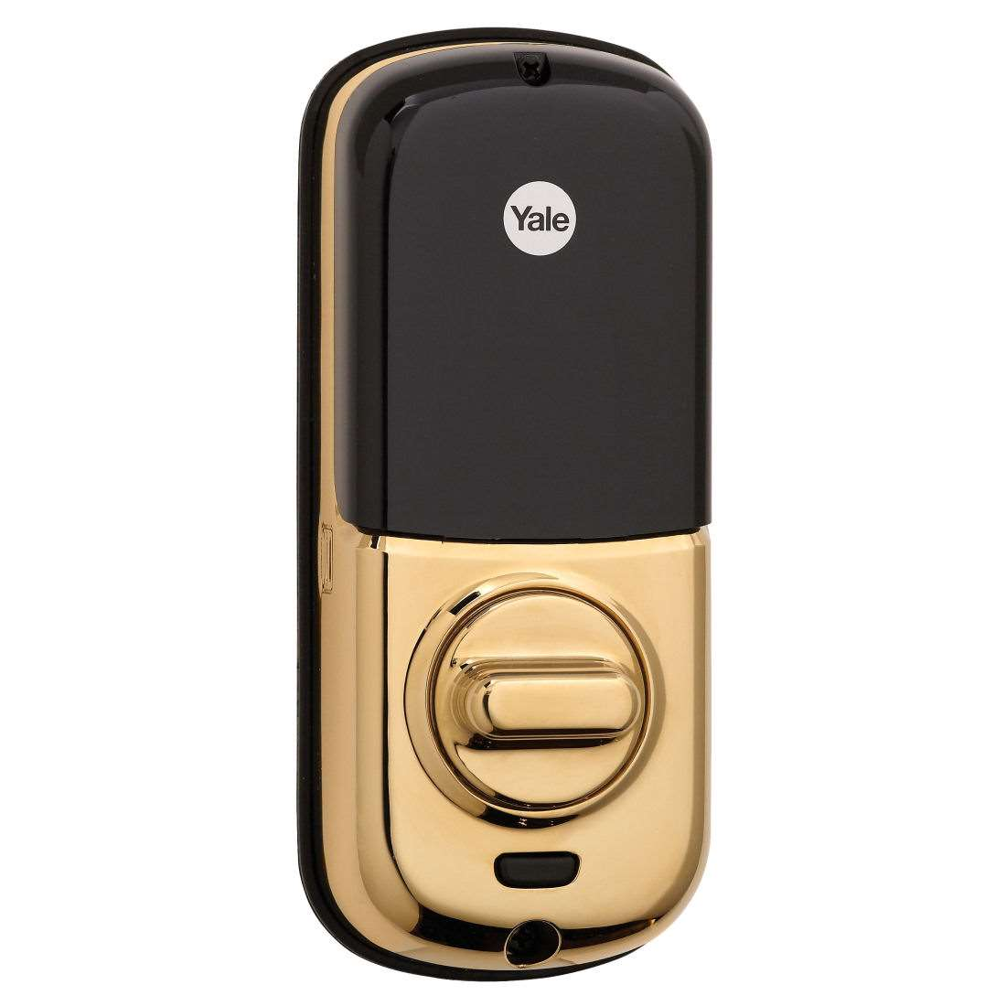 Yale Yrd226 Zwave Remote Touchscreen Bright Brass