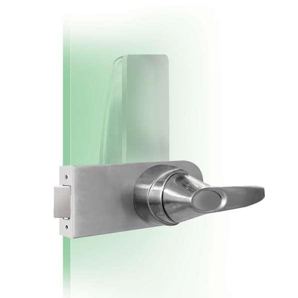 Codelocks Cl4000gd Electronic Glass Door Lock Gokeyless