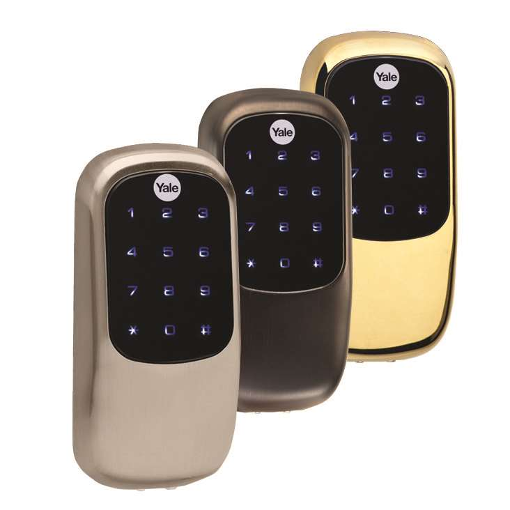 Yale Yrd246 Key Free Touchscreen Z Wave Deadbolt Bright