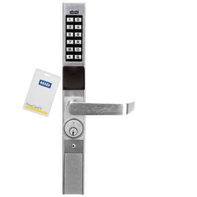 Trilogy PDL1300 Narrow Stile Prox ID Card Lock