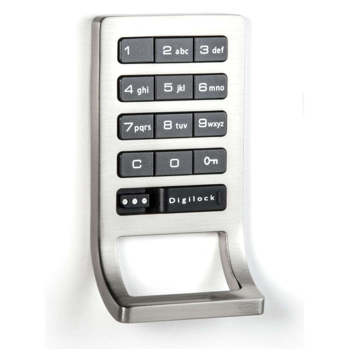 Digilock Dak1 Ats Electronic Keypad With Locker Pull 4th