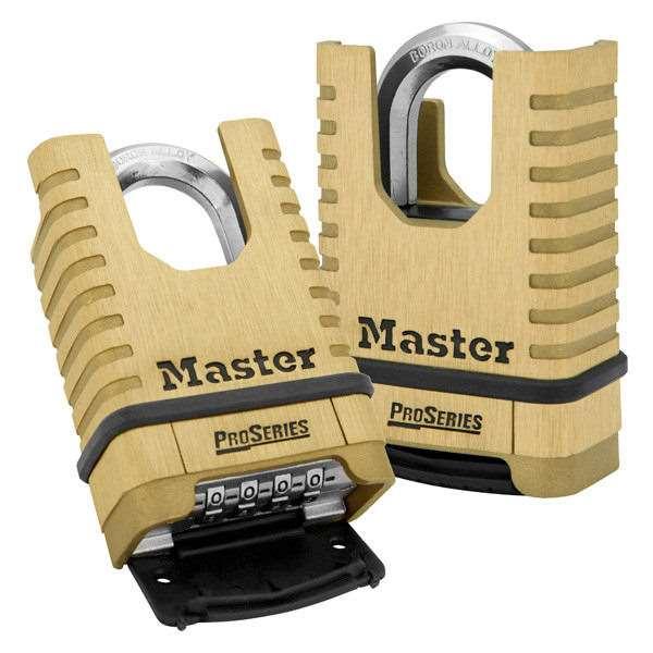 Master Lock 1177 Proseries Resettable Combination Padlock