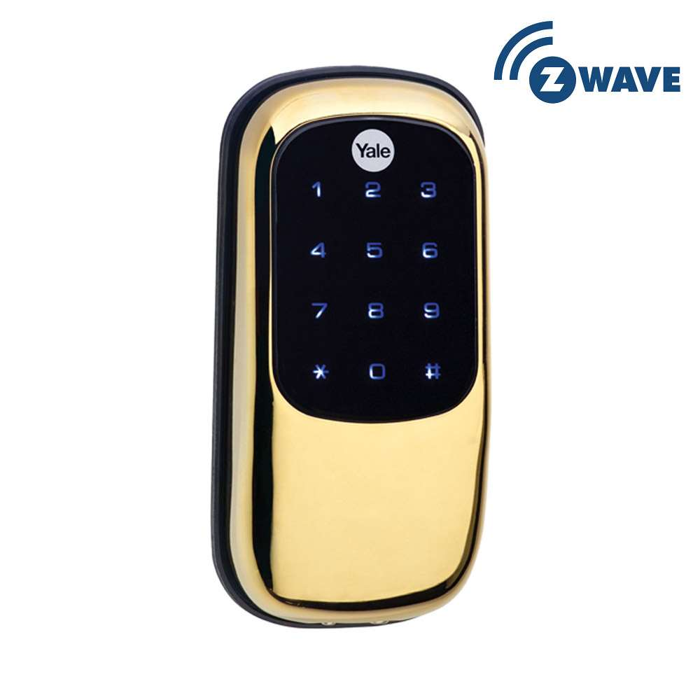 Yale YRD246 Key Free Touchscreen Z Wave Deadbolt