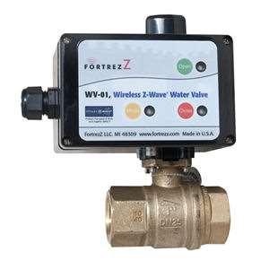Fortrezz Wireless Z Wave Water Valve Gokeyless
