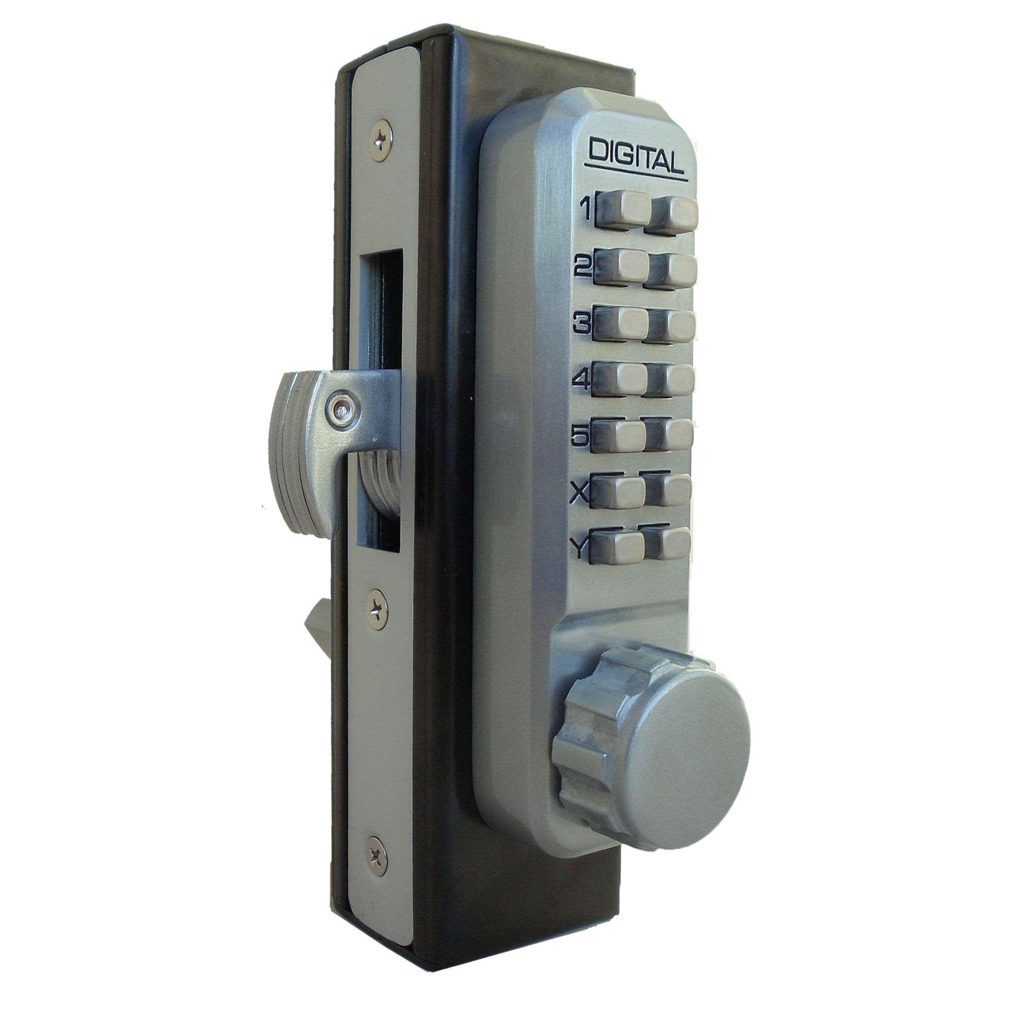 Lockey 2950 Narrow Stile Keyless Hook Bolt Lock Gokeyless