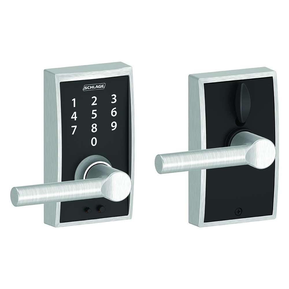 Schlage Touch Keyless Touchscreen Lock Century Trim