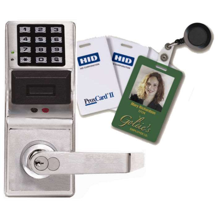 Trilogy PDL3000 HID Proximity Card Lock and Keypad