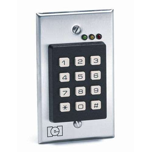linear 212i flush mount indoor keypad gokeyless. Black Bedroom Furniture Sets. Home Design Ideas