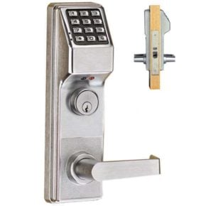 Trilogy DL3500 Heavy-Duty Electronic Mortise Lock by Alarm Lock