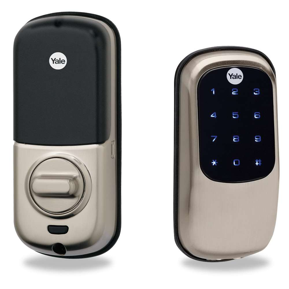 Yale Yrd246 Key Free Touch Screen Deadbolt Satin Nickel