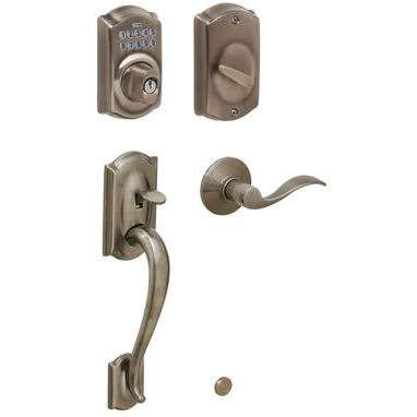 Schlage Fe365 Camelot Front Door Keypad Deadbolt With