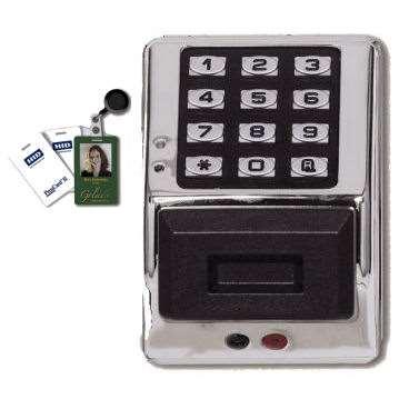 Alarm Lock Pdk3000 Electronic Digital Keypad Amp Hid Card