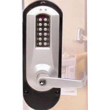 Kaba E Plex E5010 Electronic Push Bar Lock Gokeyless