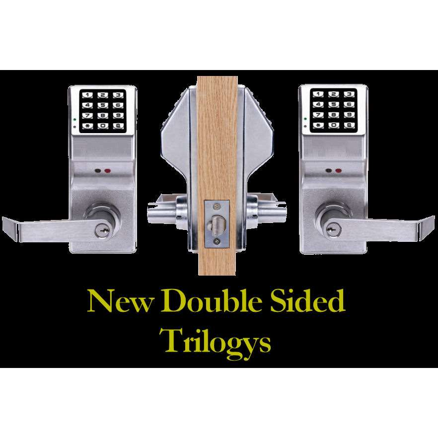 Trilogy Dl5300 Two Sided Electronic Keypad Lock Gokeyless